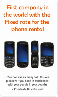 Rental Phone Unlimit : the lowest rental phone in US for traveler